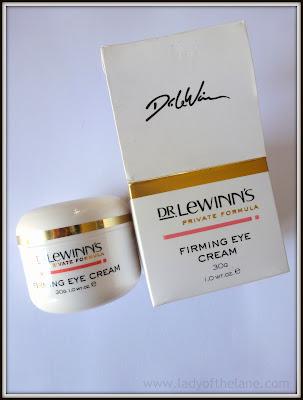 Dr Lewinn's Firming Eye Cream