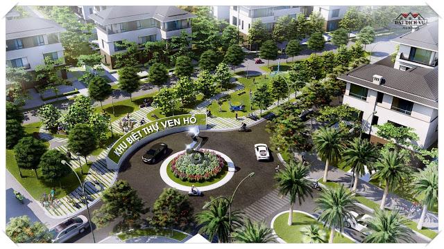 Không gian các khu đô thị phía Tây Hà Nội