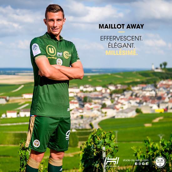 Stade Reims 18 19 Away Kit Released Footy Headlines