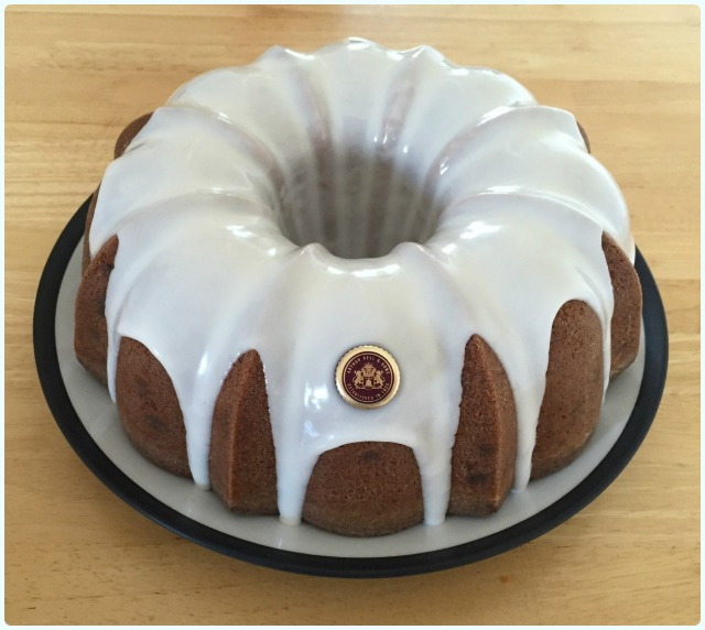 Spiced Whisky Bundt Cake