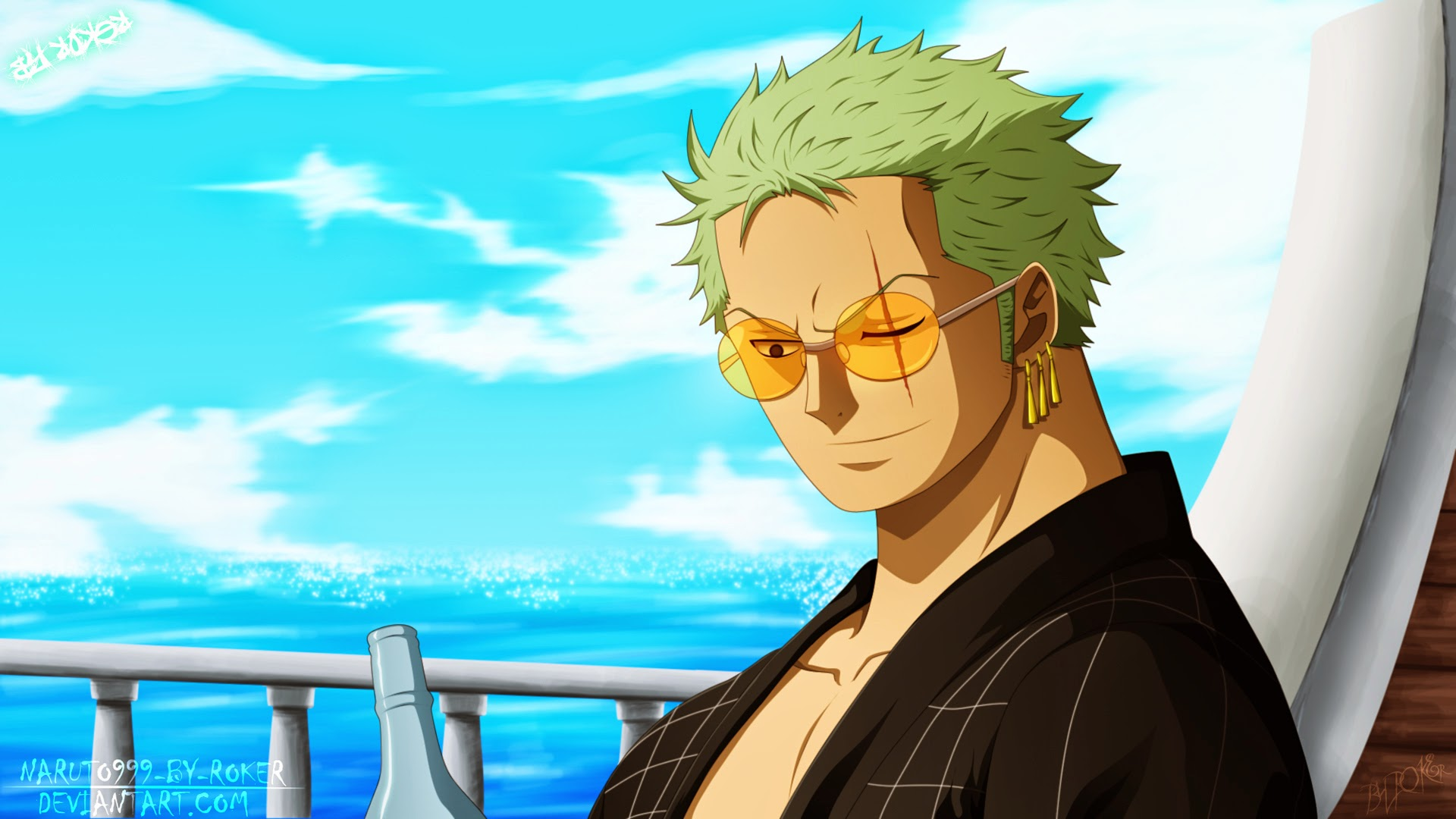 Anime Free Wallpaper Roronoa Zoro One Piece