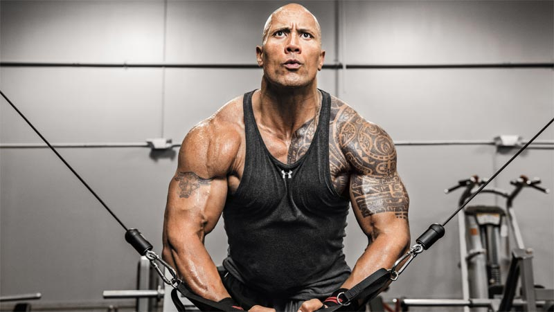 "Dwayne Johnson aka ""The Rock"" tops list of highest paid actors in Hollywood"