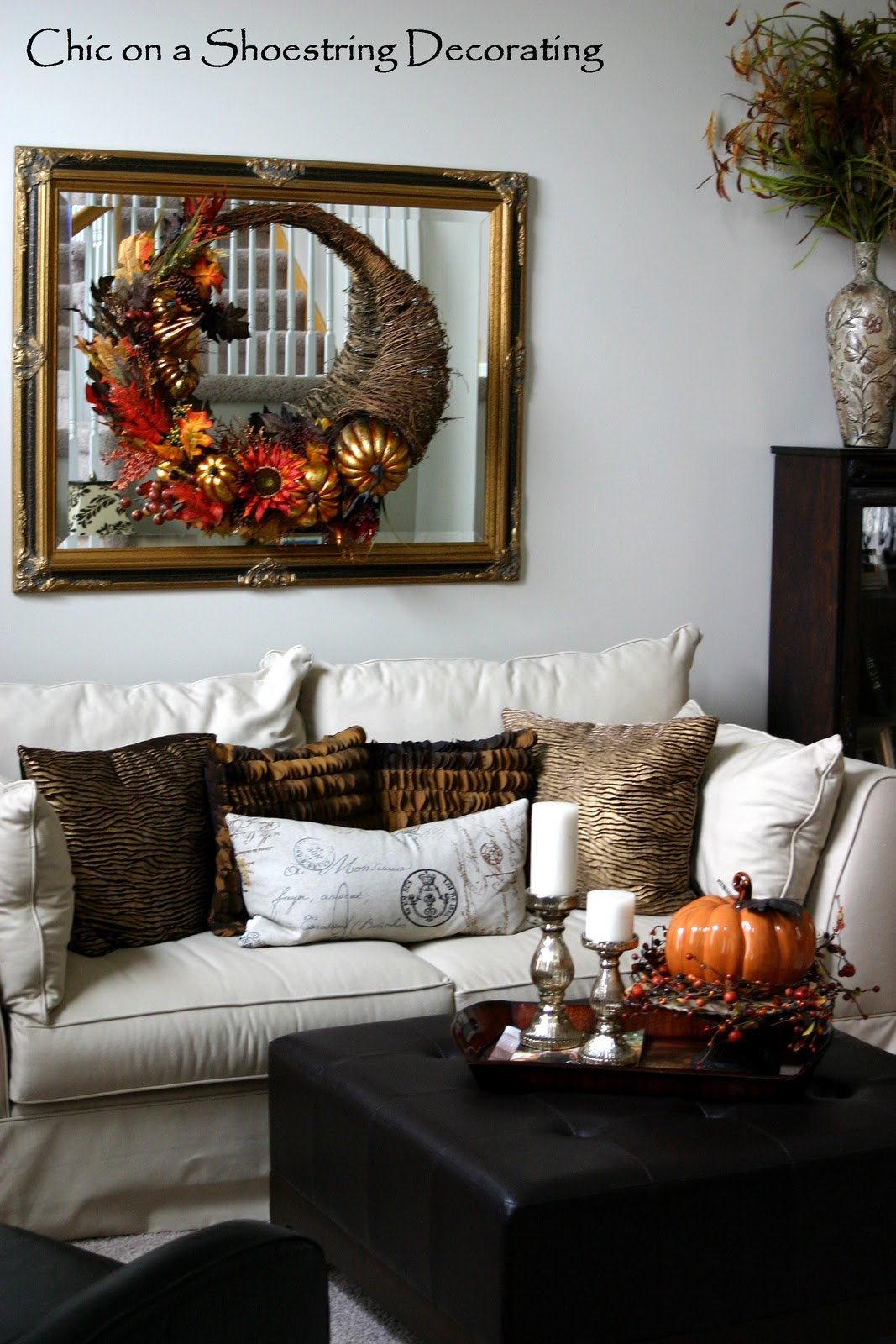 Chic on a Shoestring Decorating: Thanksgiving Decor... and ...