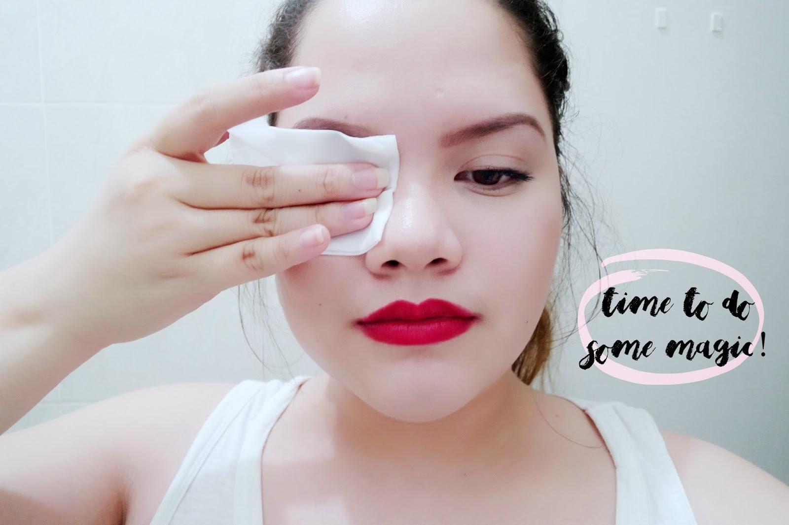 Bioré makeup removing wipes