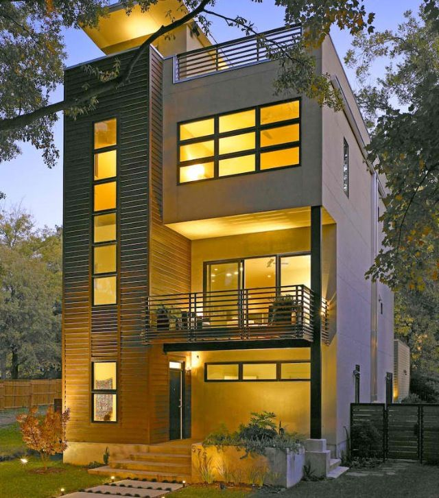 Awesome Narrow Homes Designs Pictures Amazing Design Ideas . Baby ...