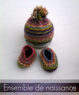 Avec 5 Ailes : Récapitulatif de mes projets tricot Loco Baby