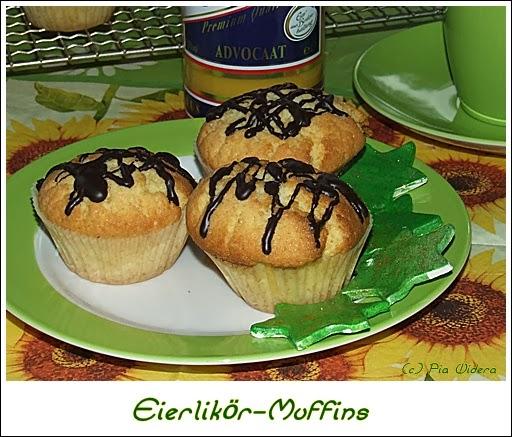 kaffeeklatsch einfache und schnelle rezepte eierlik r muffins. Black Bedroom Furniture Sets. Home Design Ideas