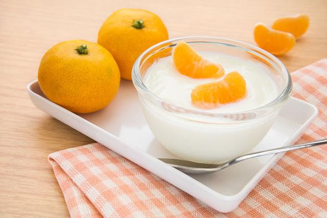 تفتيح البشرة ماسك قشور البرتقال المجفف واللبن