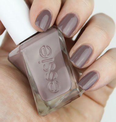 Essie Gel Couture Polish review take me to the thread nail swatch