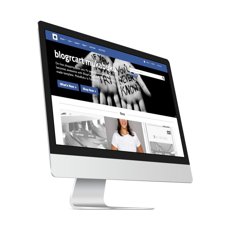 BlogrCart Mukabuku E-commerce Blogspot Pre-Made Template