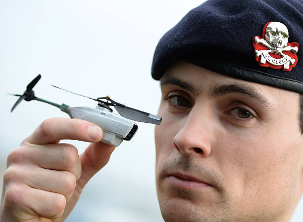 US Military All To Equipped With Tiny Spy Drones