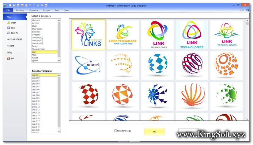 EximiousSoft Logo Designer 3.89 Full Key, Phần mềm thiết kế Logo chuyên nghiệp nhất.