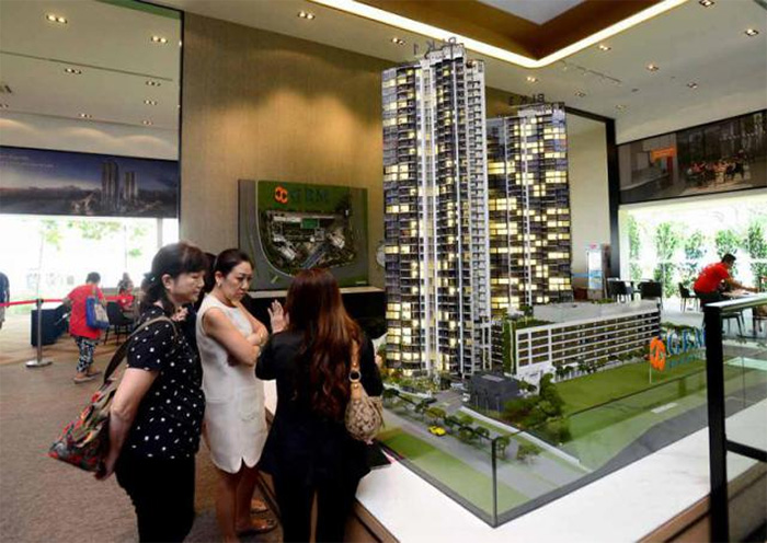 gem residences showflat saw a high rate taken-up