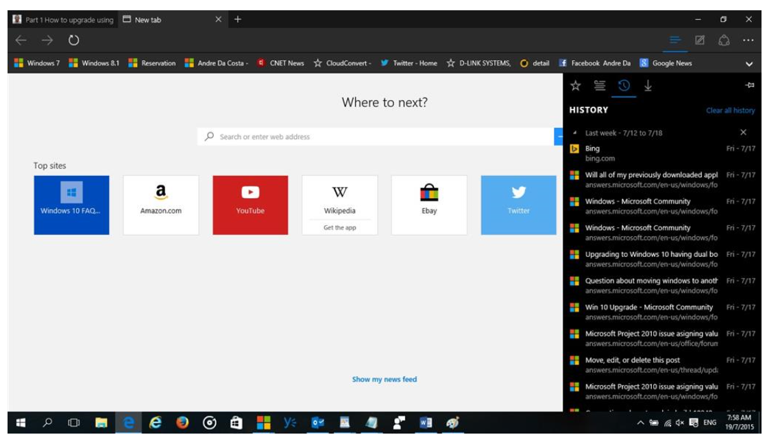Latest Windows 10 Build Brings Bookmark Sync To Edge Browser