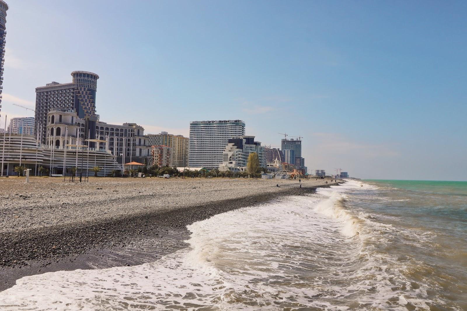 plaża gruzja wakacje
