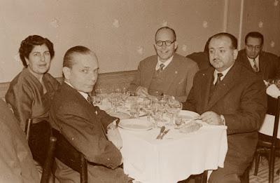 Àngel Ribera en noviembre de 1956