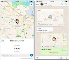 Cara Berbagi Lokasi Secara Realtime Menggunakan Whatsapp