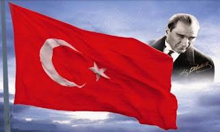 atatürk fotoğrafı, bayrak fotoğrafı
