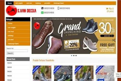 Template Toko Online Wordpress Premium Gratis