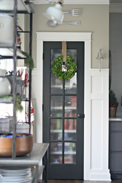 glass door pantry