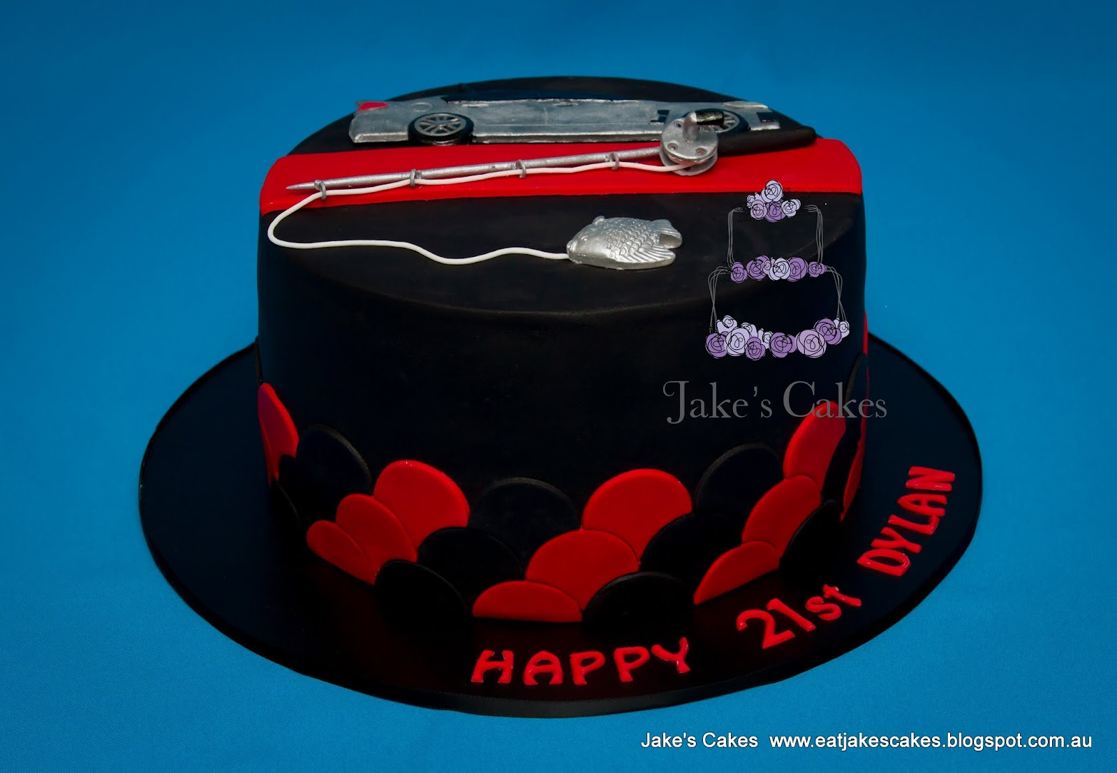 wedding cakes essendon jake s cakes essendon gts fishing cake 24321