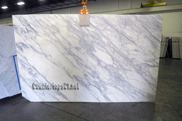 3cm Calacatta Classico honed Marble Countertops, Marble Slabs