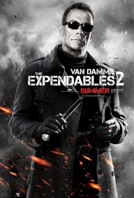 Jean-Claude Van Damme The Expendables 2 2012