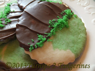 St. Patrick's Day Mint Cookies