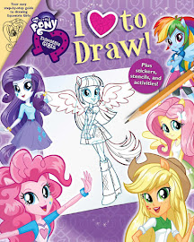 MLP Equestria Girls: I Love to Draw Book Media