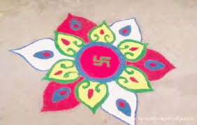 Rangoli Simple Designs Diwali