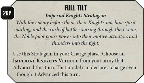 Estratagema Caballeros Imperiales