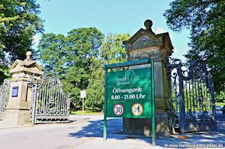 Friedhof Hamburg Ohlsdorf Haupteingang Öffnungszeiten