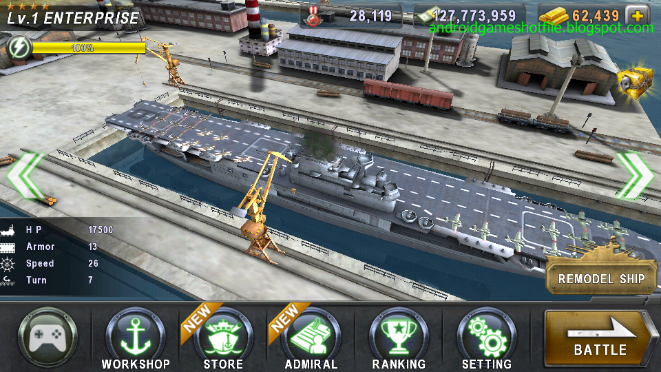 Game Warship Battle Mod « Join the Best Modern Warships Games