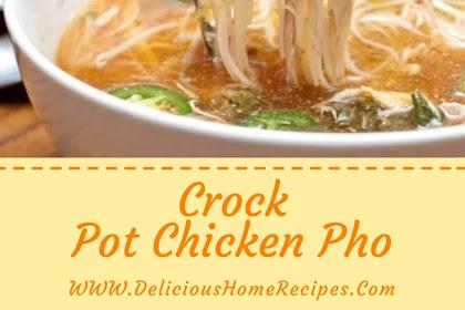 Crock Pot Chicken Pho #christmas #dinner