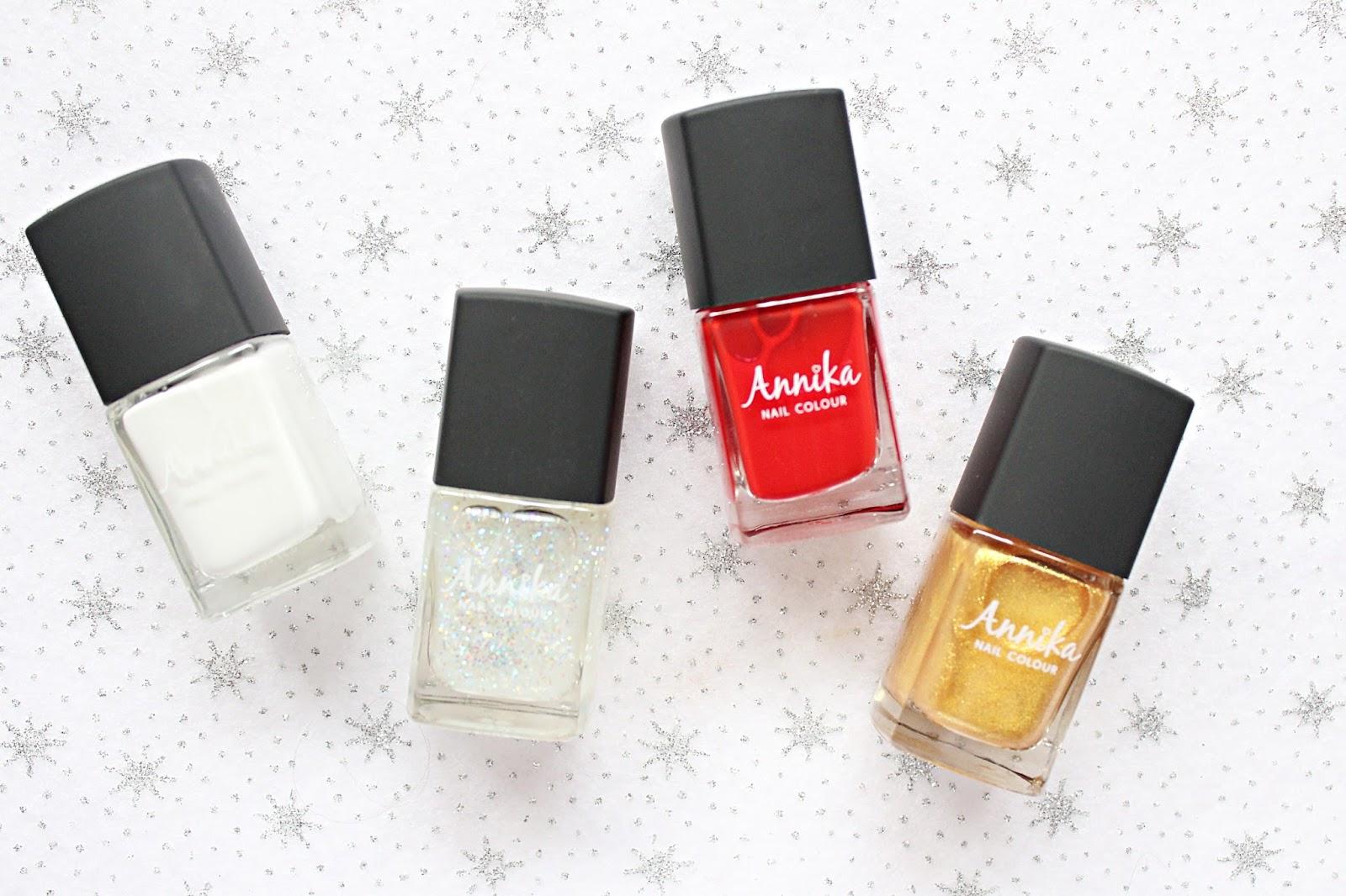 Christmas Nails with Annika