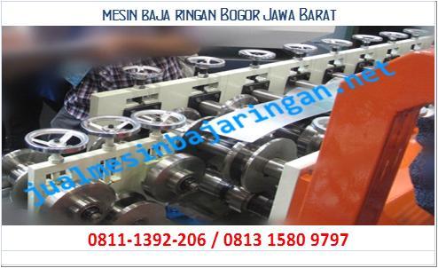 mesin baja ringan Bogor Jawa Barat