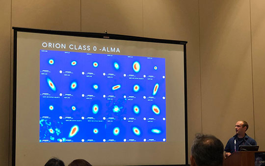 COSPAR 2018 technical session on  ALMA observations of protoplanetary disks (Source: ALMA/Patrick Sheehan)