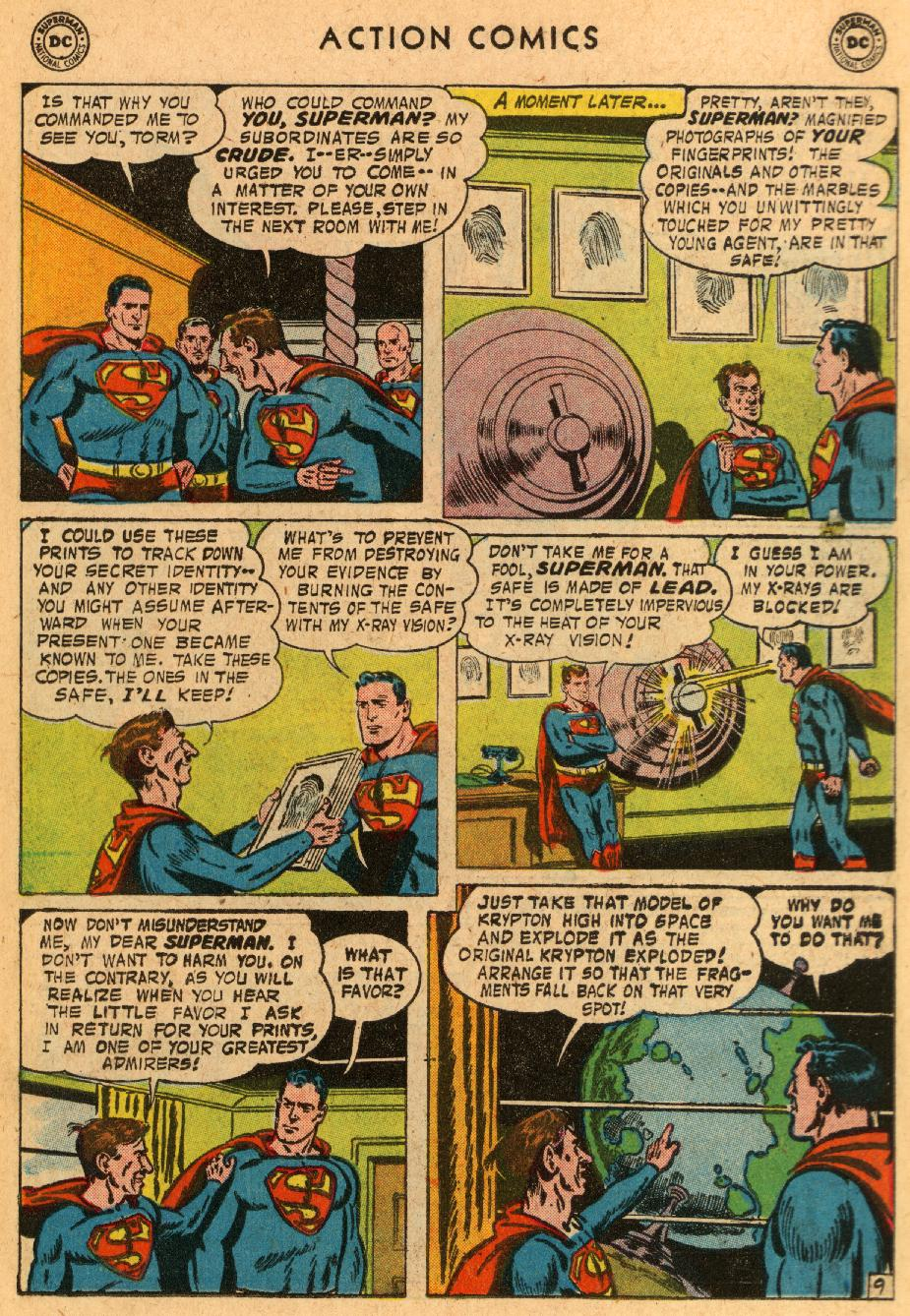 Read online Action Comics (1938) comic -  Issue #233 - 11