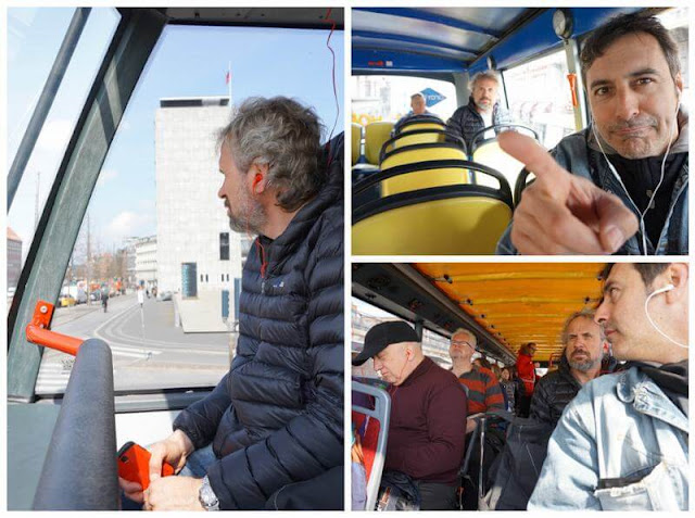 pasajeros bus turistico copenhague