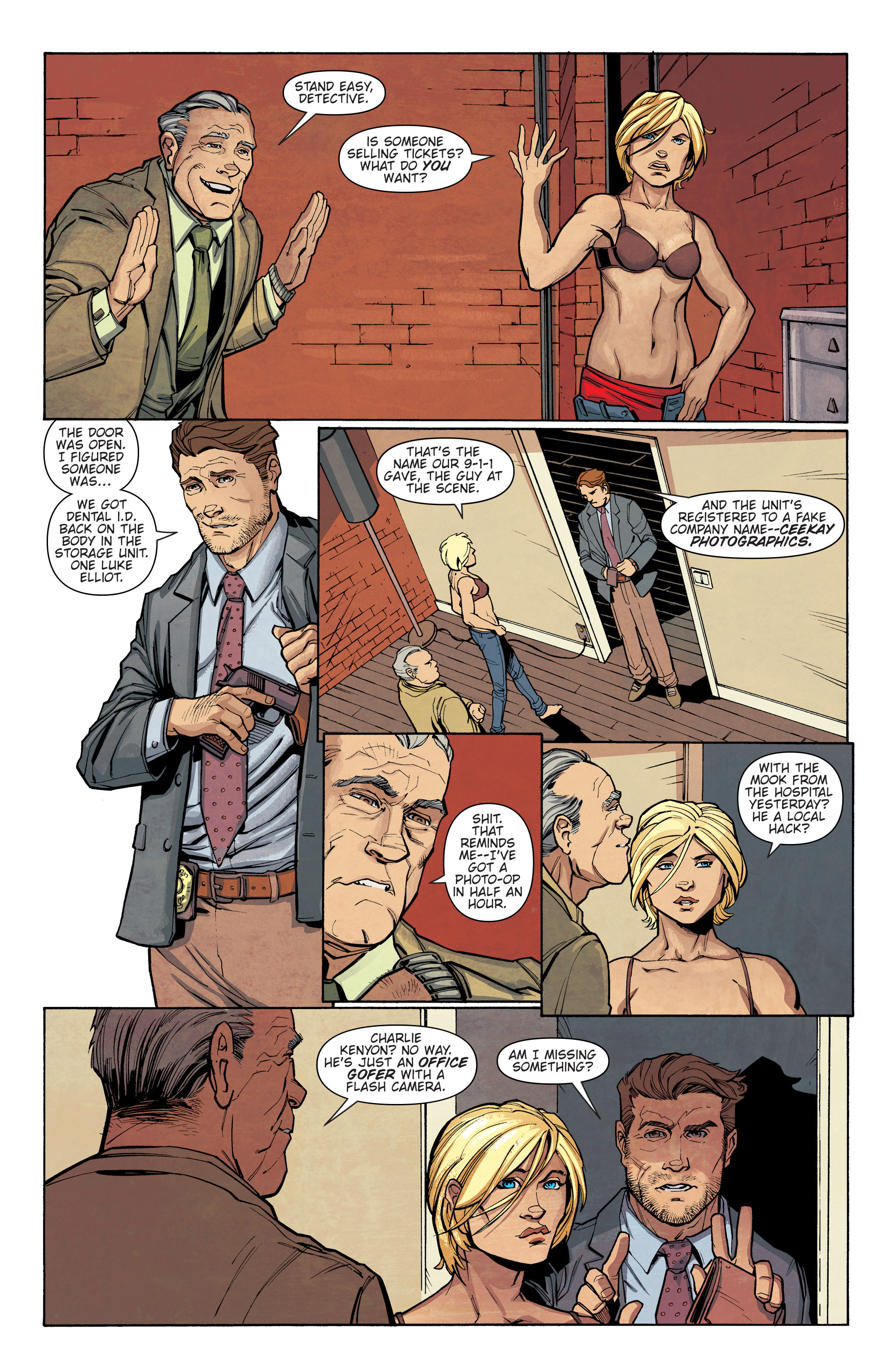 Read online Slash & Burn comic -  Issue #2 - 8