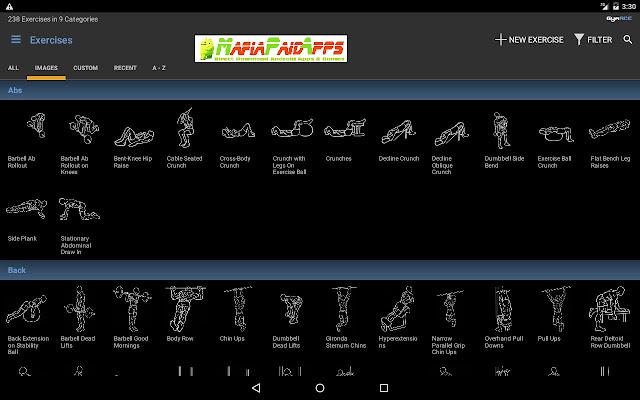 GymACE Pro Workout & Body Log Apk MafiaPaidApps
