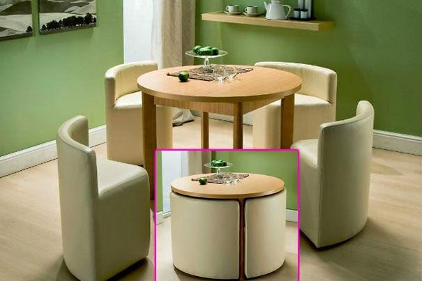 Maneras ingeniosas para disimular en casa lo que no - Muebles practicos para espacios pequenos ...