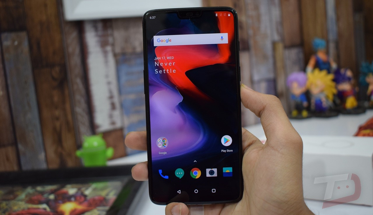 OnePlus 6 update to OxygenOS 5.1.7 now rolling out