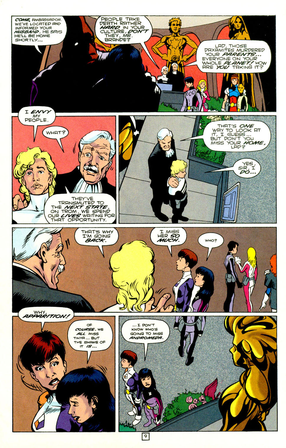 Legion of Super-Heroes (1989) 72 Page 10