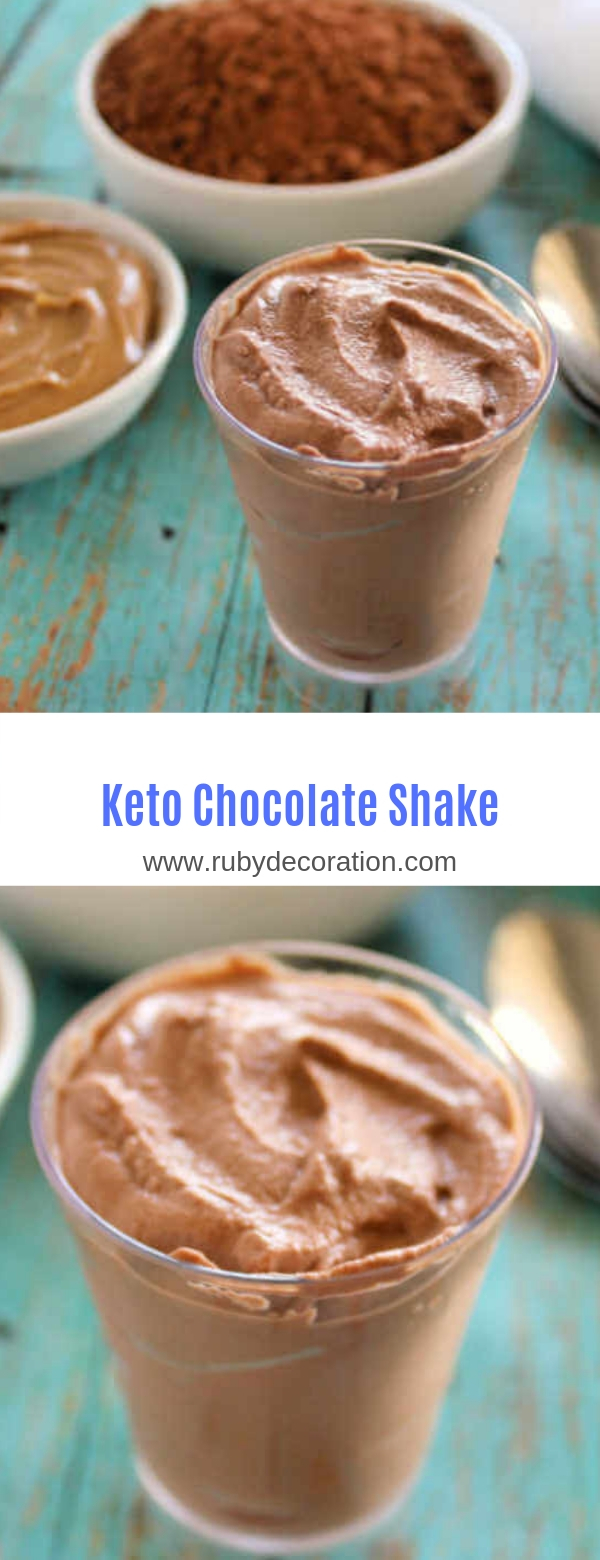 Keto Chocolate Shake