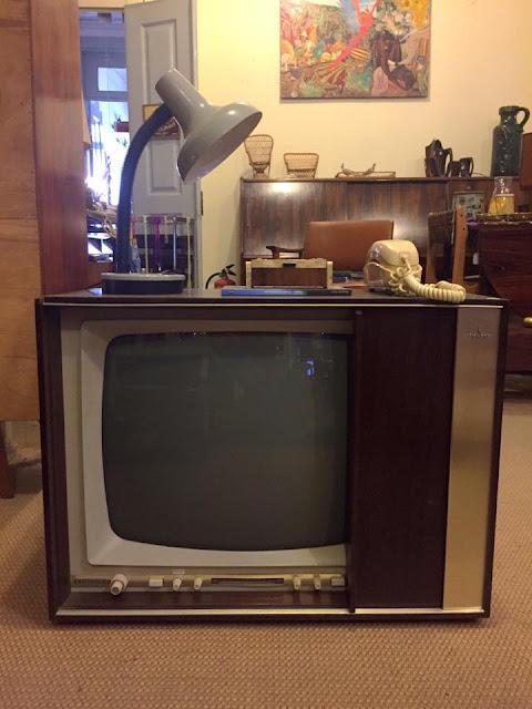 televisão, siemens, vintage, anos 60