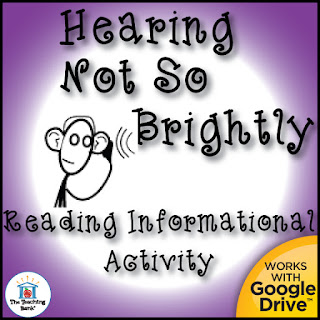 reading information activity