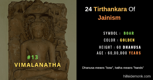 24 Jain Tirthankar Photos Names and Symbols Vimalanatha