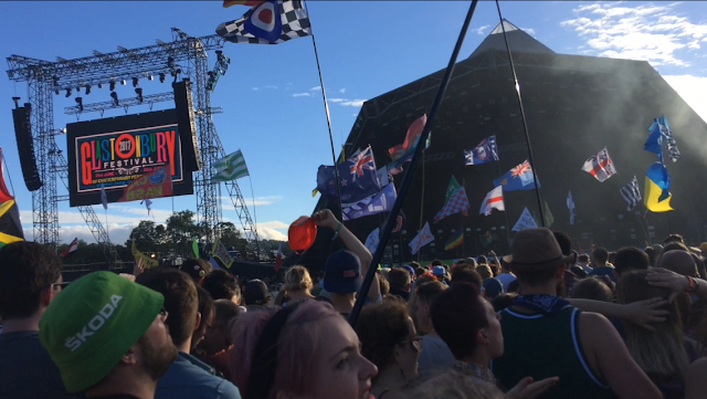 Pyramid Stage at Glastonbury 2017