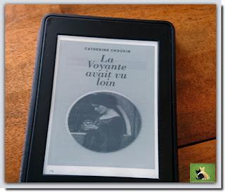Vie quotidienne de FLaure : Lecture : La voyante avait vu loin écrit par Catherine CHOUPIN